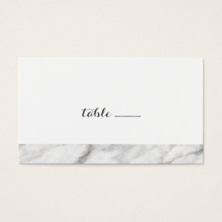 Marble Wedding Escort Cards