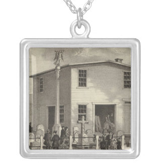 Marble Works of WE Raymond Silver Plated Necklace