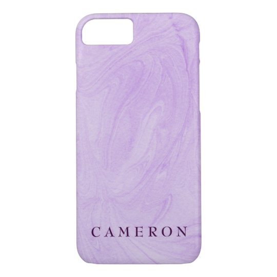 Marbled Abstract Design | Purple iPhone 7 Case