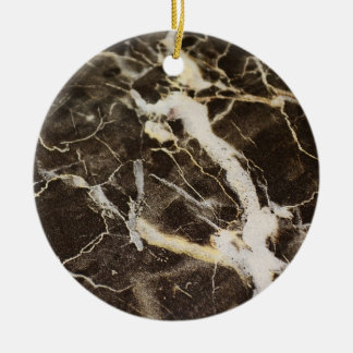 Marbled-Abstract Expressionism by Shirley Taylor Christmas Ornament