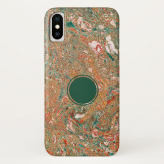 Marbled Apple iPhone X case