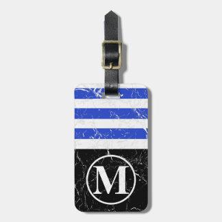 Marbled BLB HS Monogram Luggage Tag