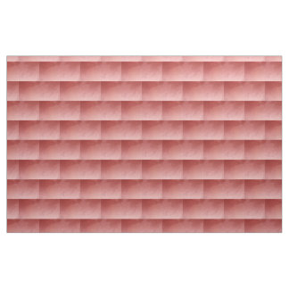 Marbled Bricks in Red Fabric
