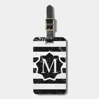 Marbled BS BBL Label Monogram Luggage Tag