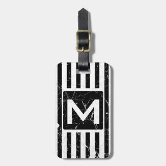 Marbled BS Official Monogram Luggage Tag