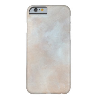 Marbled Cream Background Plaster Texture Marble Barely There iPhone 6 Case