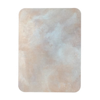Marbled Cream Background Plaster Texture Marble Rectangular Photo Magnet