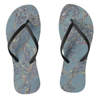 Marbled Flip Flops