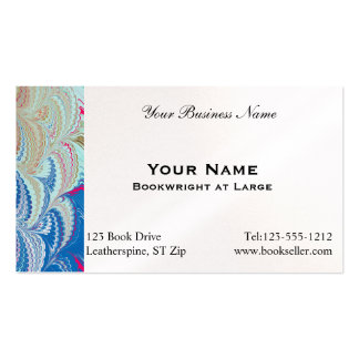 Marbled Paper 5 Business Card