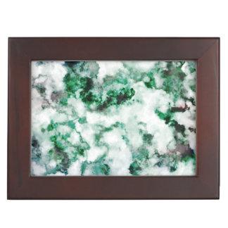 Marbled Quartz Texture Keepsake Box