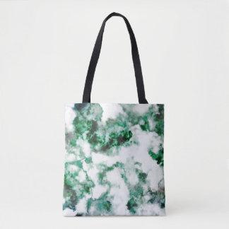 Marbled Quartz Texture Tote Bag