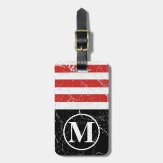 Marbled RB HS Monogram Luggage Tag