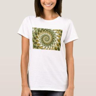 Marbled Shards - Mandelbrot Art T-Shirt