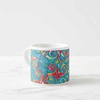Marbled Swirls Espresso Mug