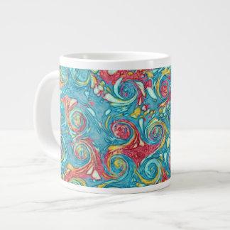 Marbled Swirls Jumbo Mug