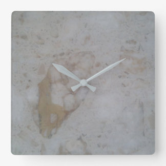 Marbled wall clock