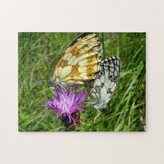 Marbled White Butterflies Photo Puzzle