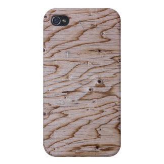 Marbled Wood Grain Panel Texture iPhone 4/4S Case