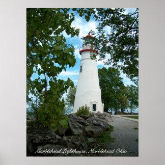 Marblehead Lighthouse, Marblehead Ohio Poster