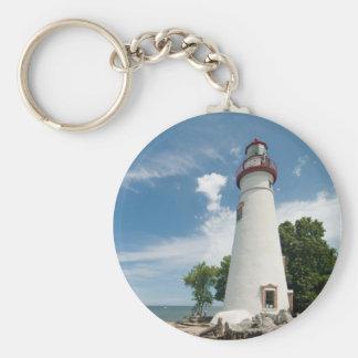 Marblehead Lighthouse, Ohio  Keychain