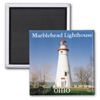 Marblehead Lighthouse, Ohio Magnet