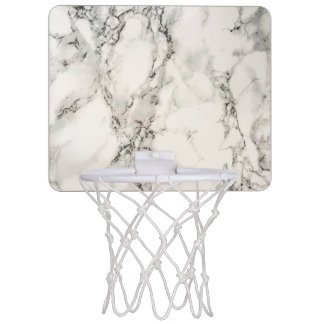 Marbleous Marble Mini Basketball Hoop
