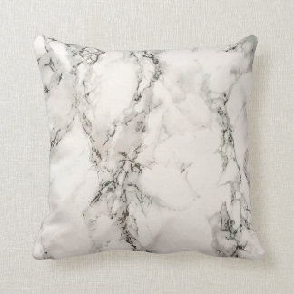 Marbleous Marble Throw Pillow