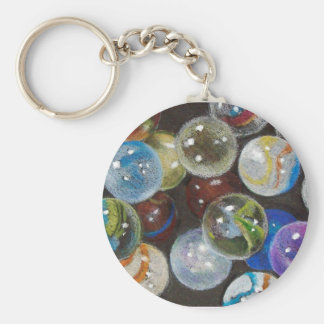 MARBLES GALORE KEY RING