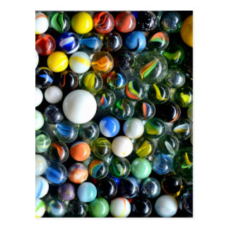 Marbles, Marbles, Marbles Postcard
