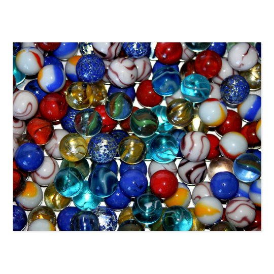 Marbles Postcard