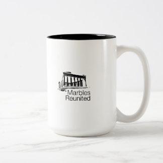 Marbles Reunited Caryatid Mug
