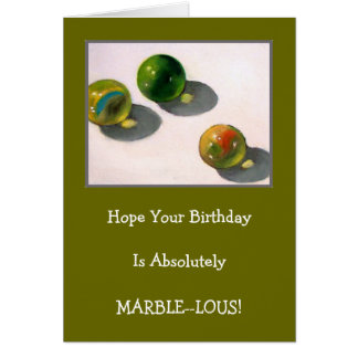 MARBLES THREE CARD