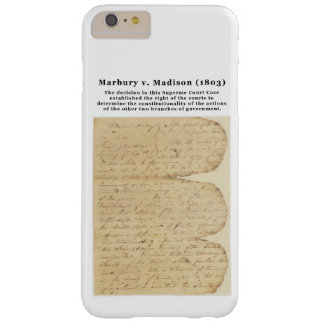 Marbury v. Madison, 5 U.S. 137 (1803) Barely There iPhone 6 Plus Case