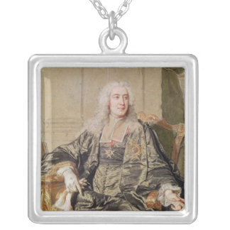 Marc Pierre de Voyer  Count of Argenson Silver Plated Necklace