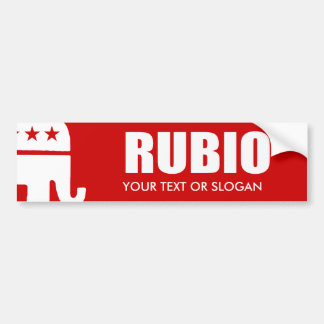 MARC RUBIO 2012 BUMPER STICKER