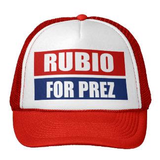 MARC RUBIO 2012 HATS