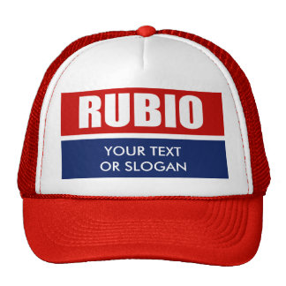 MARC RUBIO 2012 TRUCKER HAT
