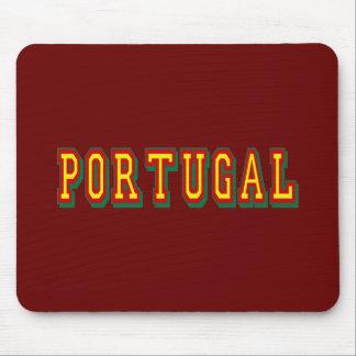 Marca Portugal por Fás do Futebol Português Mousepads