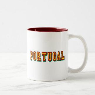 """Marca """"Portugal"""" por Fás do Futebol Português Mug"""