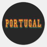 """Marca """"Portugal"""" por Fás do Futebol Português Sticker"""