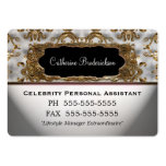 Marcee Personal Assistant Professional Round Edge Business Cards