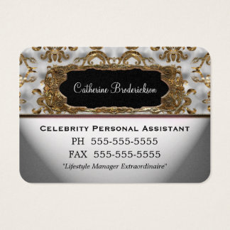 Marcee Personal Assistant Professional Round Edge Business Card