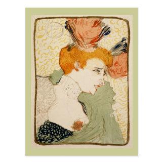 Marcelle Lender, Henri de Toulouse-Lautrec Postcard