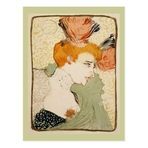 Marcelle Lender, Henri de Toulouse-Lautrec Post Cards