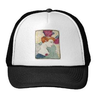Marcellle Lender by Toulouse-Lautrec Mesh Hat