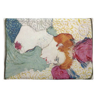 Marcellle Lender by Toulouse-Lautrec Placemats