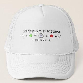 march1615BassetHound.jpg Trucker Hat