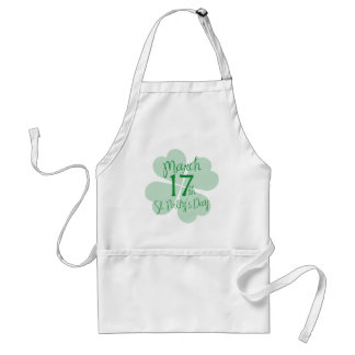 March 17th St. Patty's Day Adult Apron