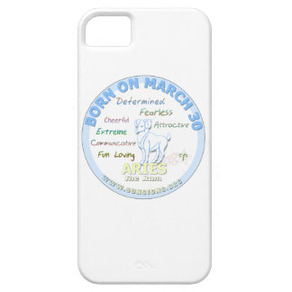 March 30th Birthday - Aries Cover For iPhone 5/5S