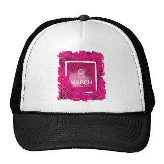 March 8th - International Women's Day Cap